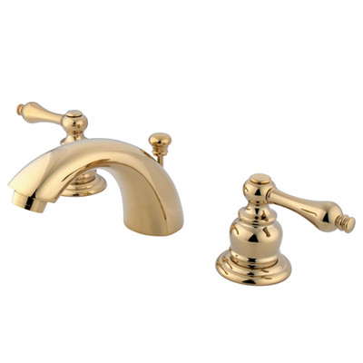 Traditional Faucet | Bathroom | Polished Brass | Mini Spread