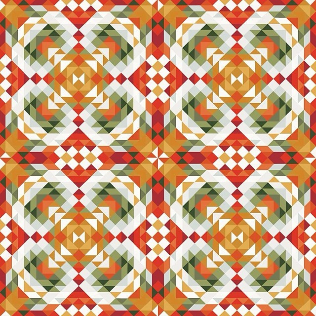 100 Pattern Collages | Sallie Harrison Design Studio