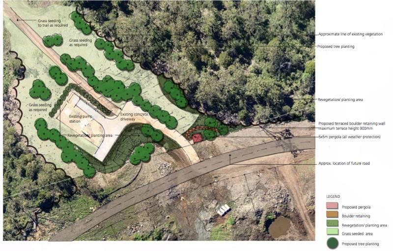 Cranley_Escarpment_Park_Toowoomba_aerial2_LARK_Sunshine_Coast_Landscape_Architect