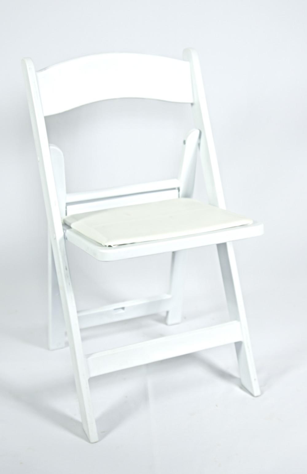 White Resin Garden Chair
