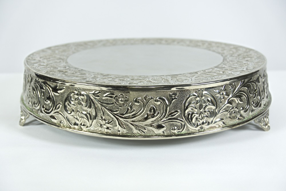 Silver Traditional Cake Stand