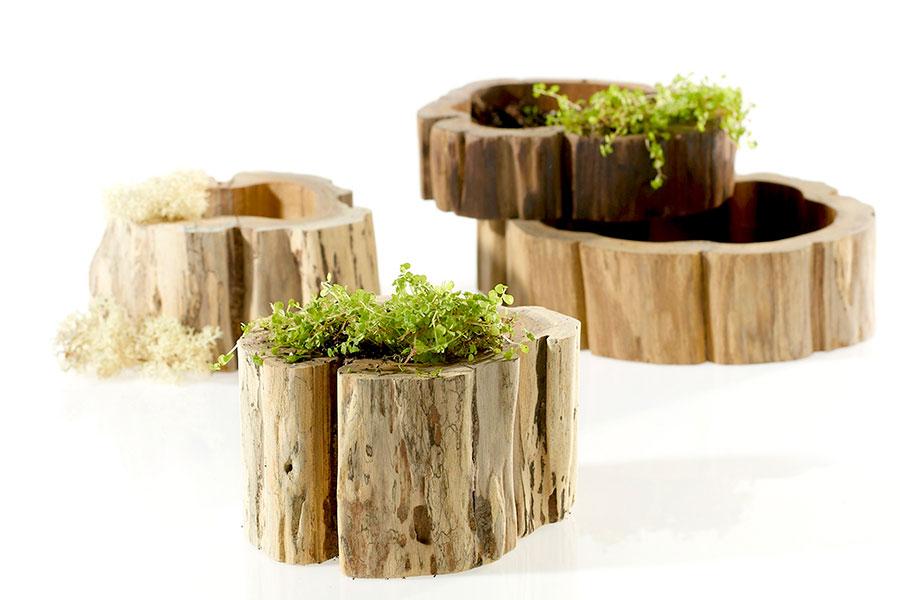 Stump Vases