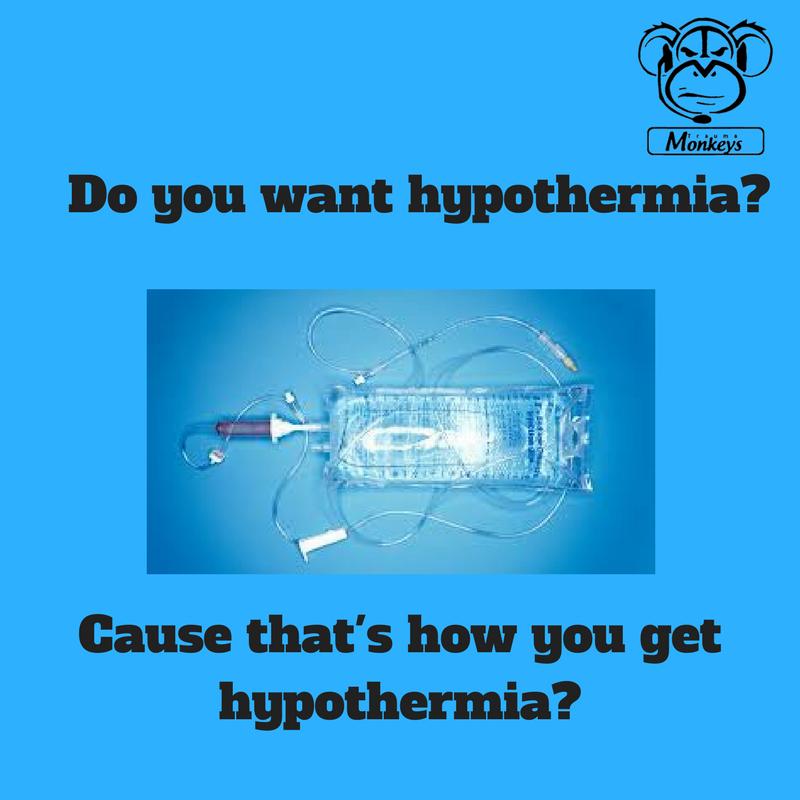 5 Myths about Hypothermia in Trauma — Trauma Monkeys