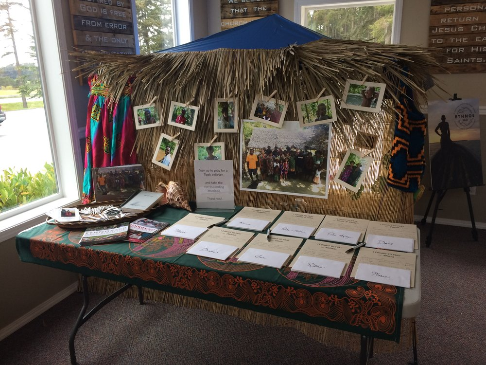 Many folks from our church in Oak Harbor signed up to pray for Tigak believers. This is such an encouragement, both for you and for them!