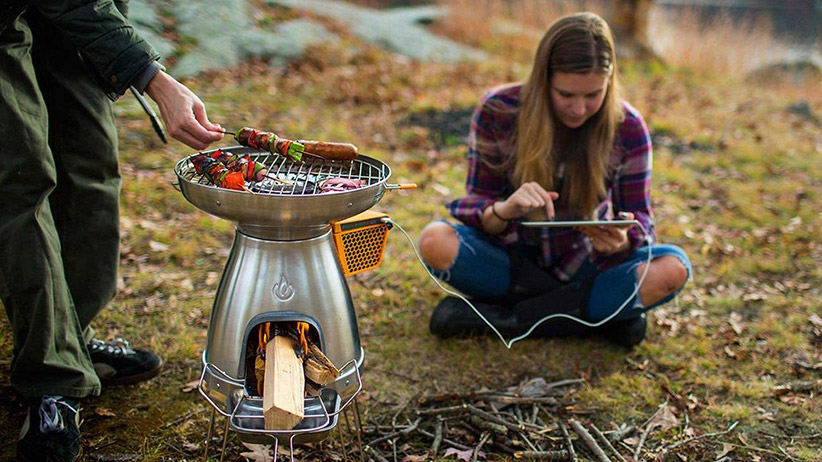 biolite charger stove