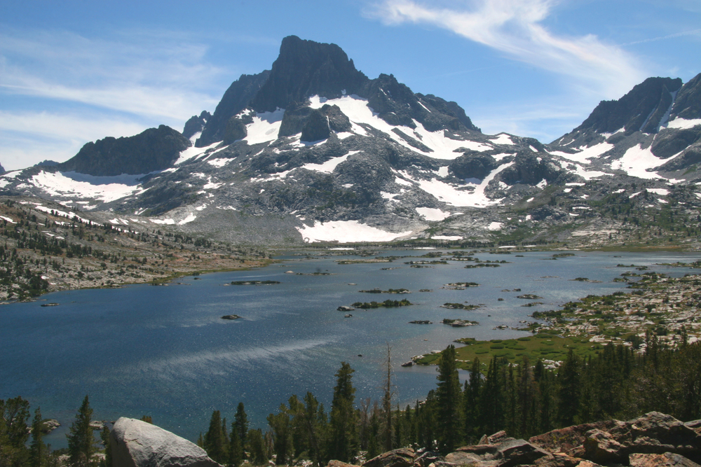 MtBanner and Thousand Island Lake