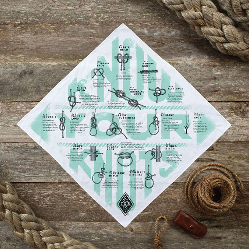 knot your knots bandana - survival bandana