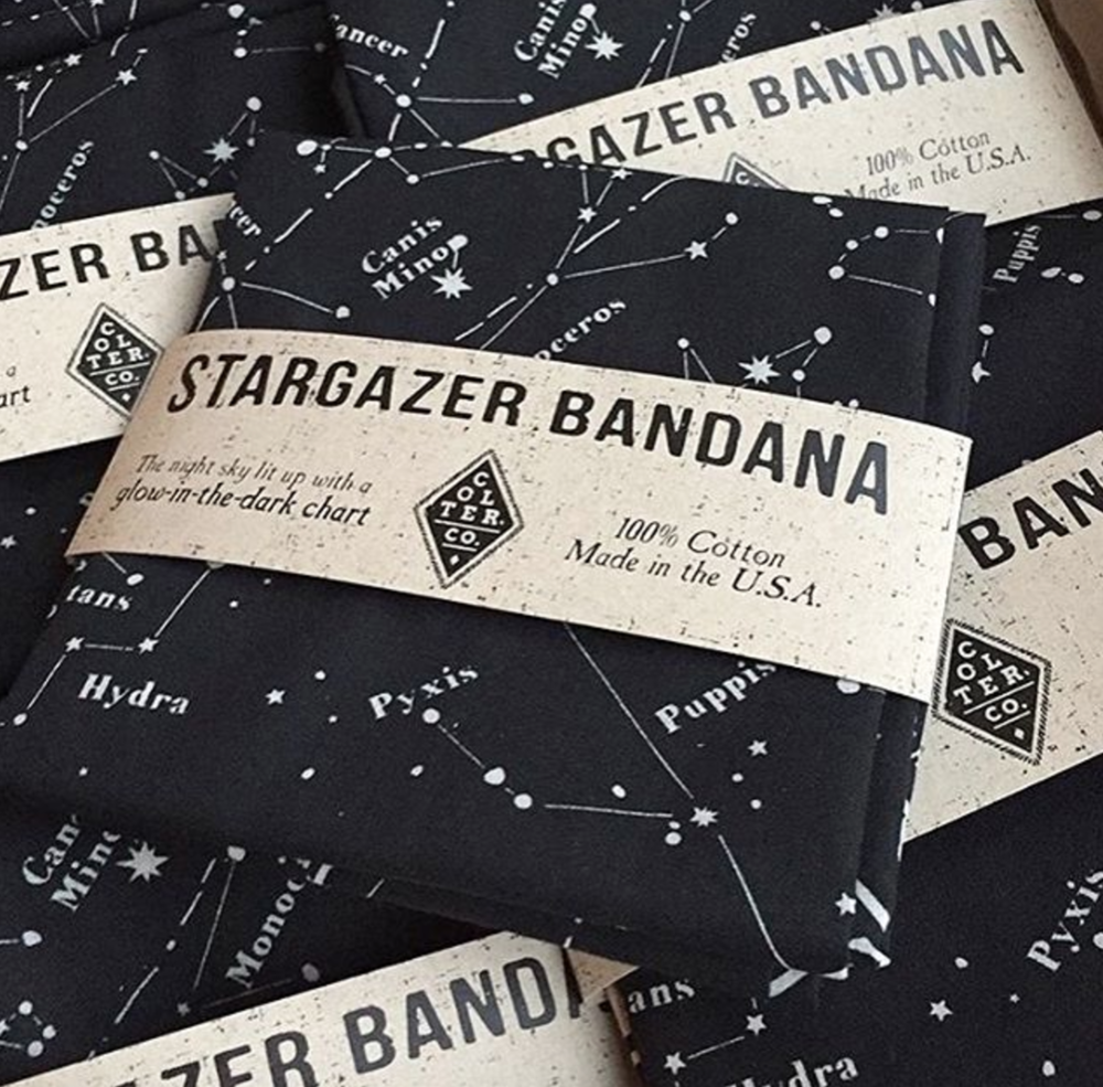 Colter co stargazer bandana