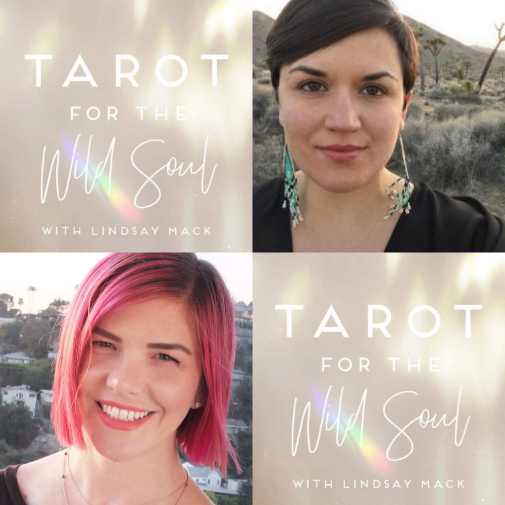 Tarot for the Wild Soul podcast interview with Lindsay Mack