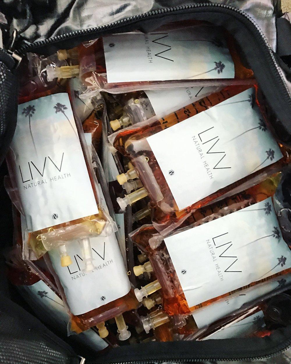 LIVV IV Hydration Events