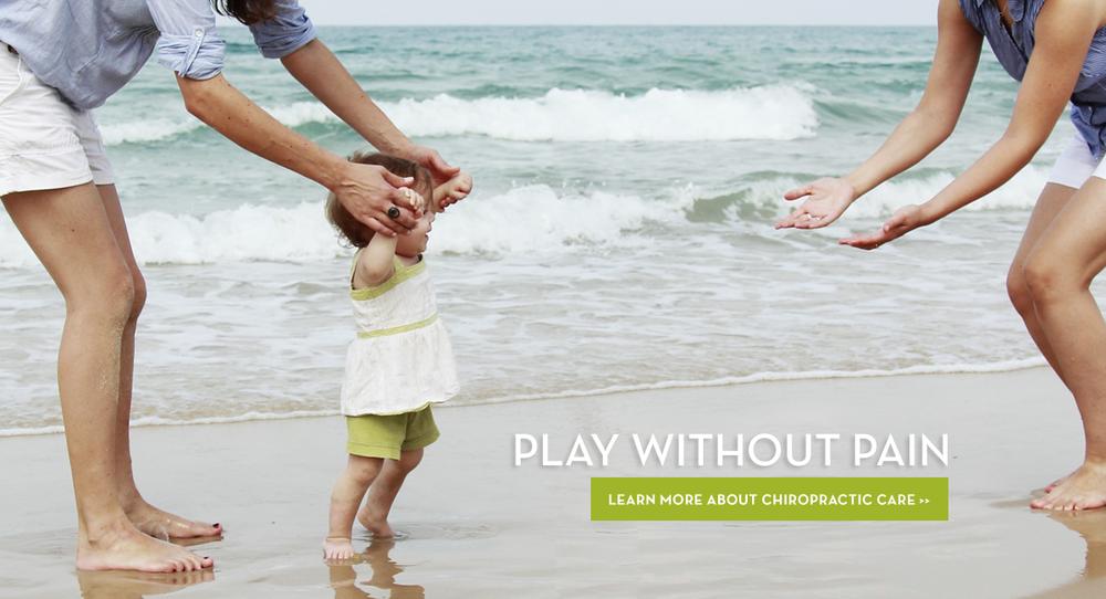 Beach Walking & Chiropractic