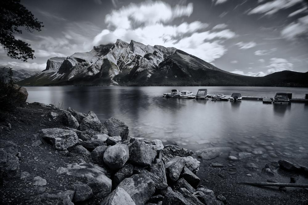 Lake Minnewanka, outside of Banff, Alberta, Canada