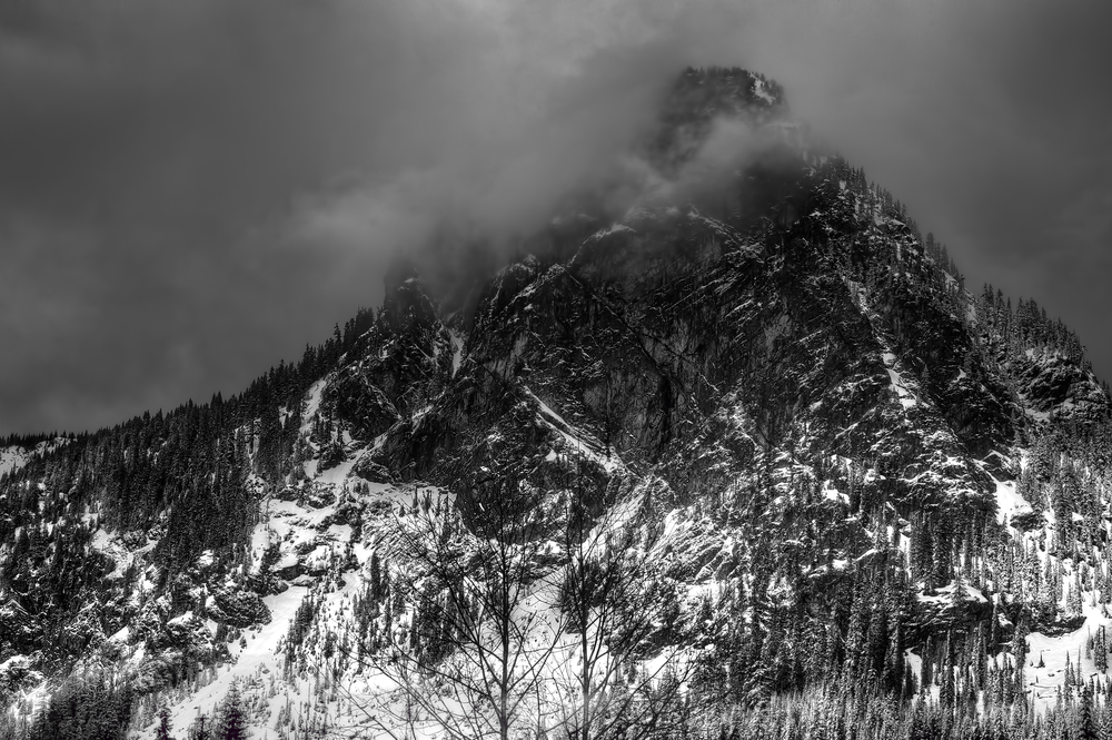 The View From Snoqualmie Pass