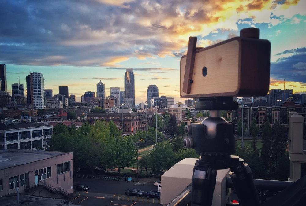 Ondu 6x12 Multi-Format Pinhole Camera