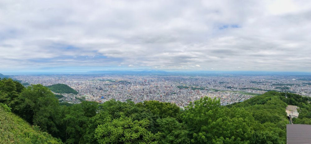 View from Mt. Moiwa