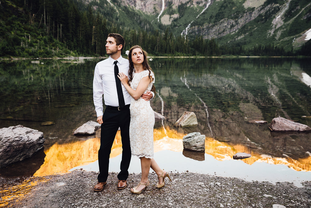 Brian & Joelle Hunsaker - Kodak Gold 100