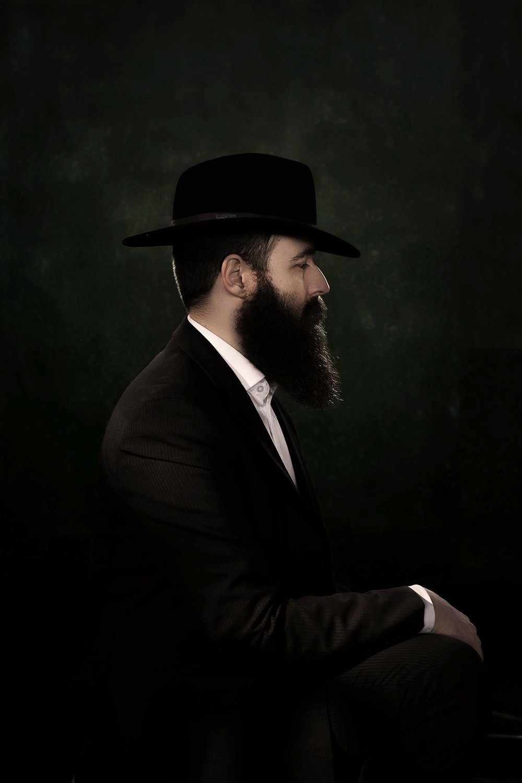 Porträtt naturligt ljus skägg unique talents foto David Falk