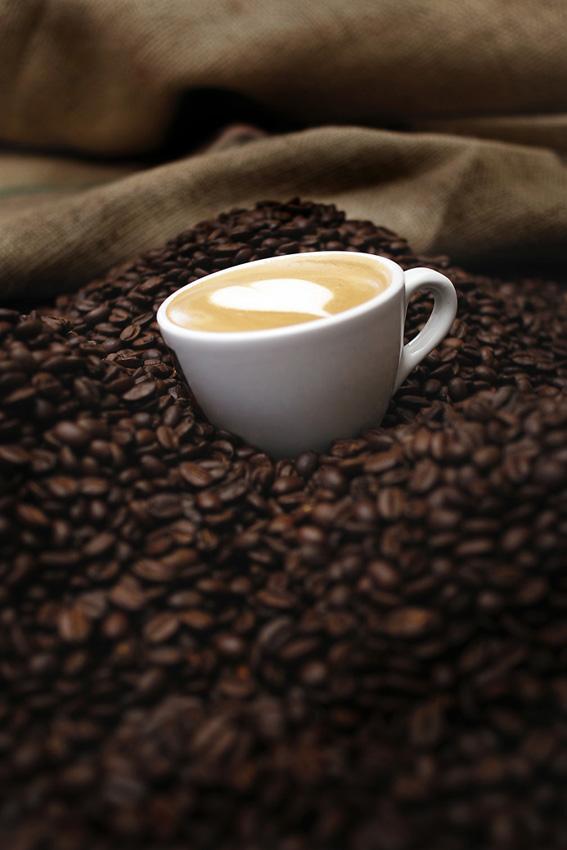 Kahls kaffe hjärta foto David Falk