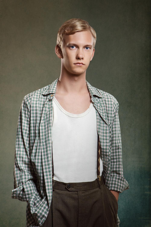 porträtt skådespelare fotograf David Falk