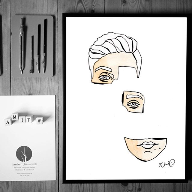 "To celebrate the 5th year with AMITW, I made three very special (and very limited edition) illustrations, only 20 of each, in A3. ""Disconnected, still attached"", ""Imploded, not broken"" & ""It's not you, it's not me, it was a blast"" In the webshop now, go go go, good people, go have a look! Made with love -and at a birthday worthy price:) 💋louise  #a_mile_in_the_woods #amileinthewoods #AMITW #drawing #handmade #graphicdesign #design #craft #interior #decoration #aarhus #denmark #ink #homedecor #københavn #work #louisehaugaardnielsen #illustration #architect #print #visualstorytelling #visualartist #stories #people #limitededition #news #webshop #yay"