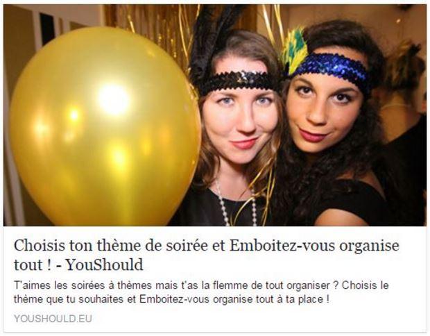 youshould - actualité - emboitez-vous
