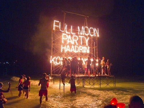 Full Moon Party - Lundi 7 Août 2017