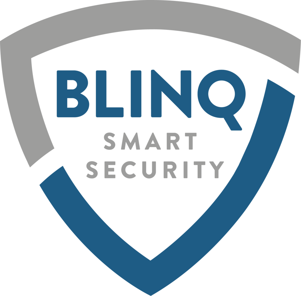 blinq home security logo zerosix design rh zerosixdesign com security logos free security logon type