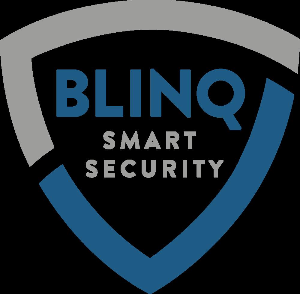 blinq home security logo zerosix design rh zerosixdesign com security logo light grey polo shirts security logon banner