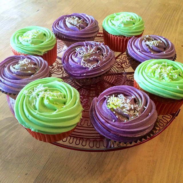 Did someone say #Halloween ?! #cupcakes buttercream icing #October #London #cakes #cakehouse #kentishtown #Weekend #delicious #food #coffee #festive