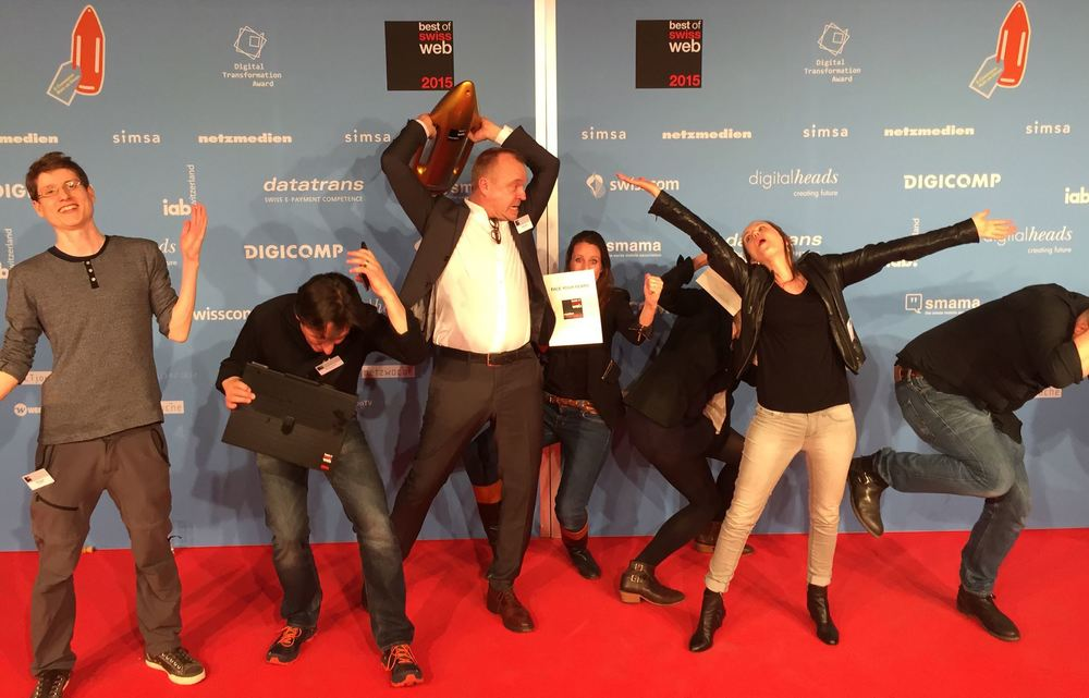 Best Of Swiss Web 2015 and we did it again .. ;-)