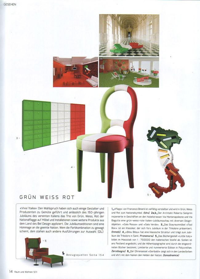 Raum und wohnen Maggio 11 Svizzera .jpg