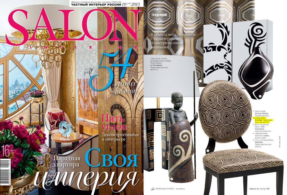 Salon Interior . Russia