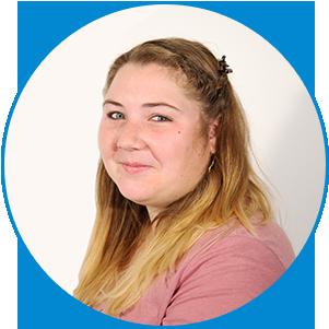 """Daniela """"kreatives allroundtalent""""   als grafikerin und teamassistentin gibt es immer kreative arbeiten zu erledigen."""