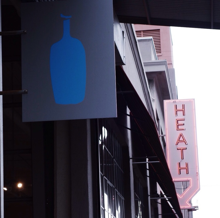 Blue Bottle Coffee and Heath Ceramics