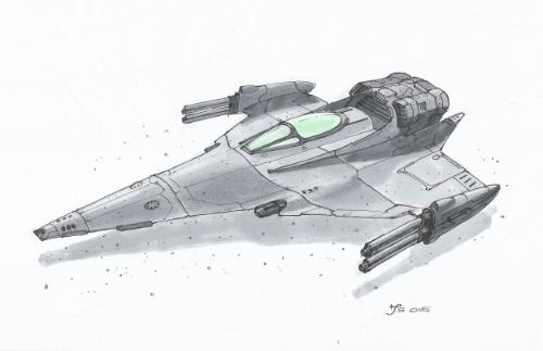 Riverhawk Fighter