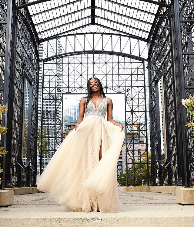 #bliss #bride #joy #neimanmarcus #weddingdress #chicago #blackbarbie #maggiedaleypark #tarjimichellephotography