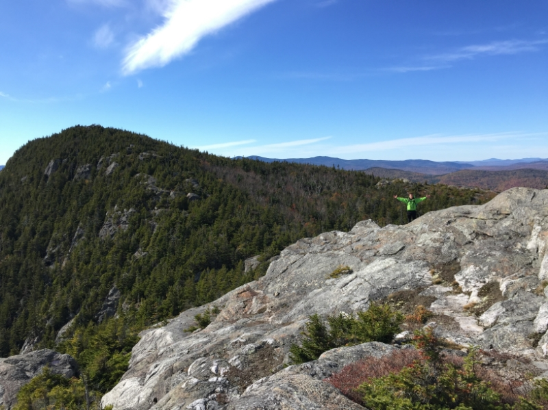 We made it up to Tumbledown!