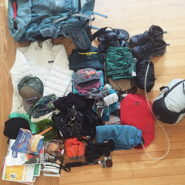 What I packed for the Laugavegur Trail