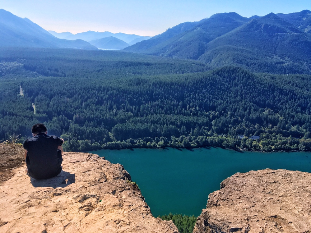Rattlesnake Ledge near Seattle, Washington