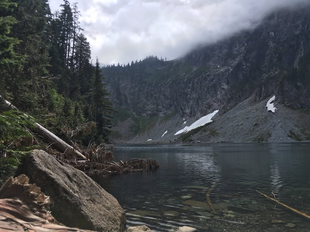 Lake Serene in the Snoqualmie Region of Washington