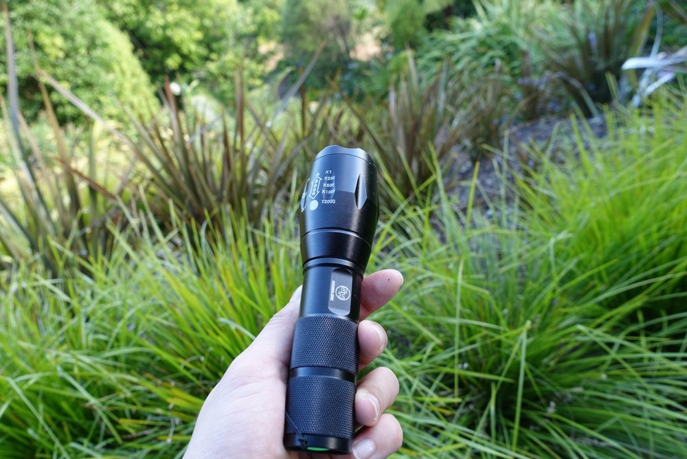 Survival Hax Tactical LED Flashlight