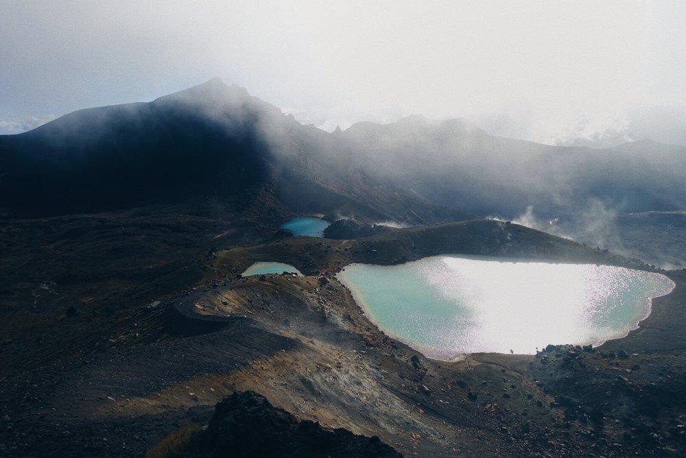 Emerald Lakes at Tongariro Alpine Crossing