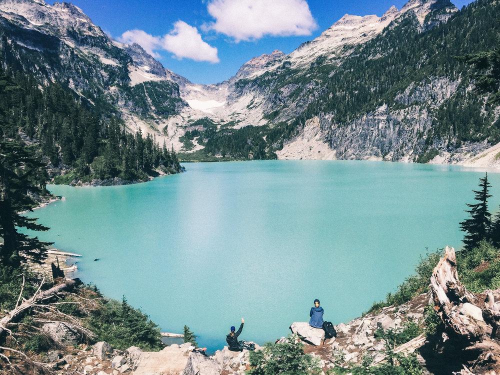 Blanca Lake near Seattle