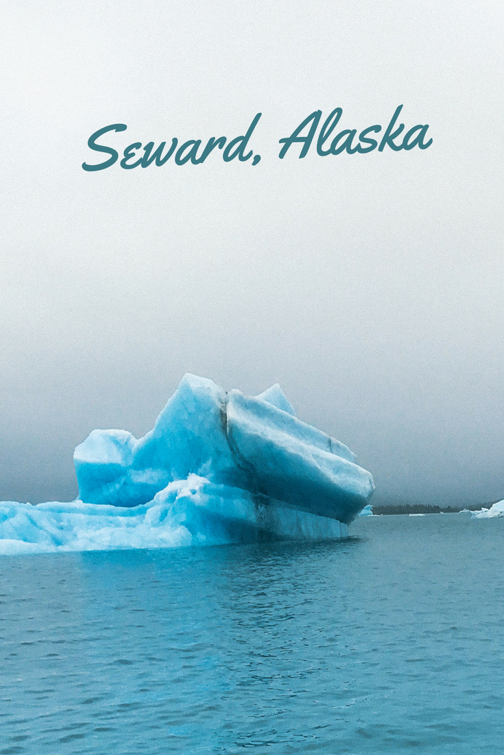 Top tips for traveling in Seward, Alaska in the Kenai Fjords National Park. See icebergs, glaciers, and more!