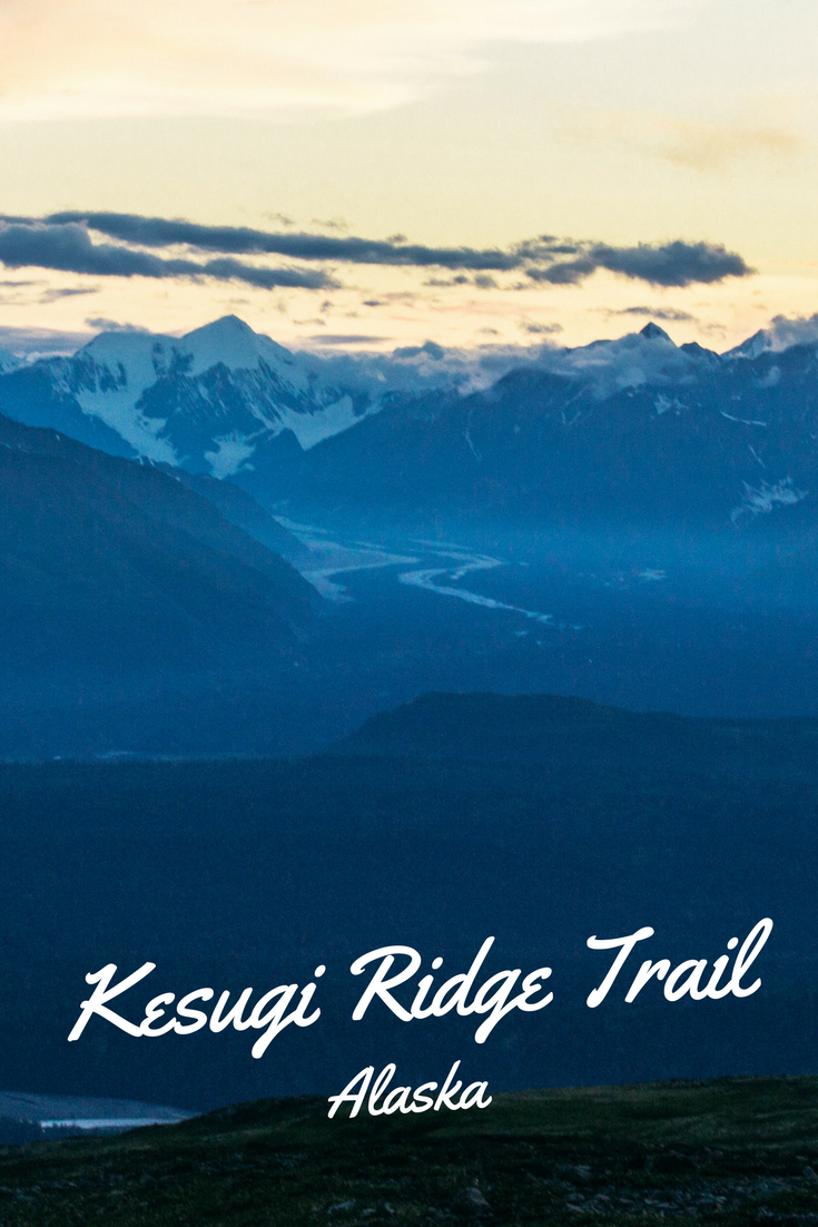 Kesugi Ridge Trail in Denali State Park