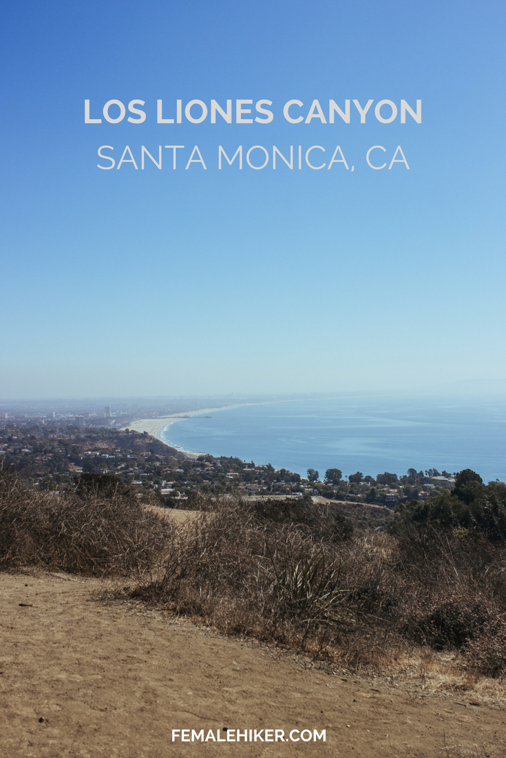 Los Liones Canyon in Santa Monica (Los Angeles, CA)