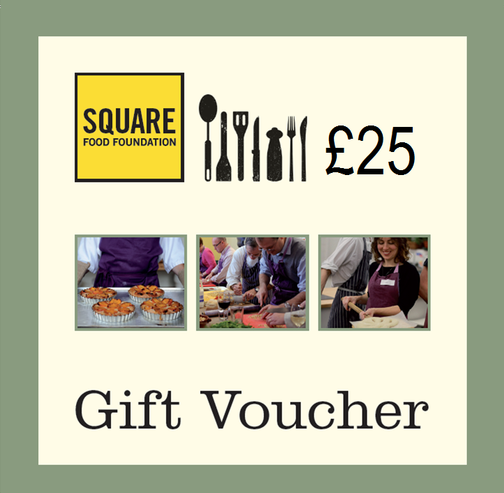 Buy a £25 Gift Voucher for Square Food