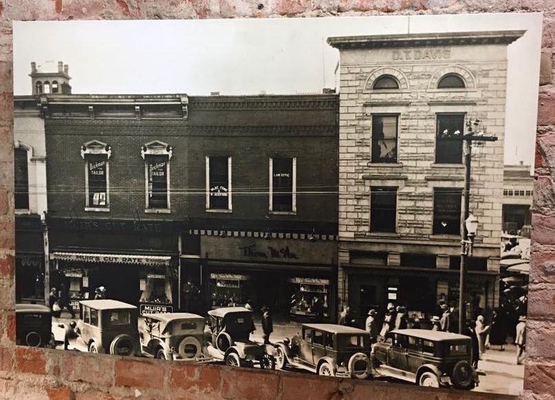 Our building in 1930