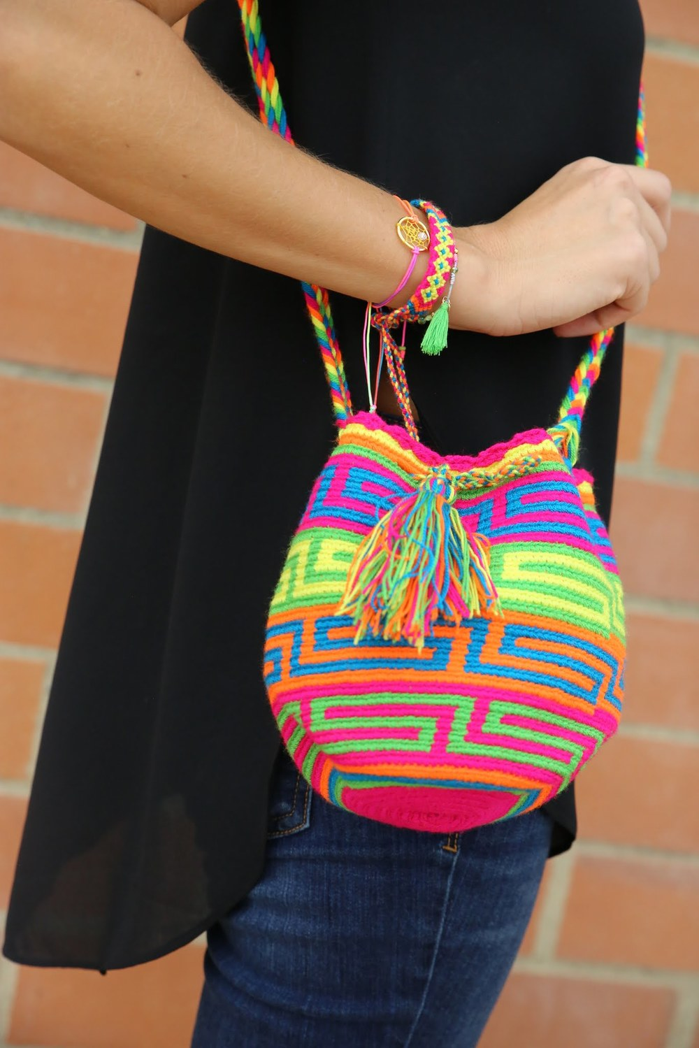 SHOP - Wayuu Mini Mochila Bags