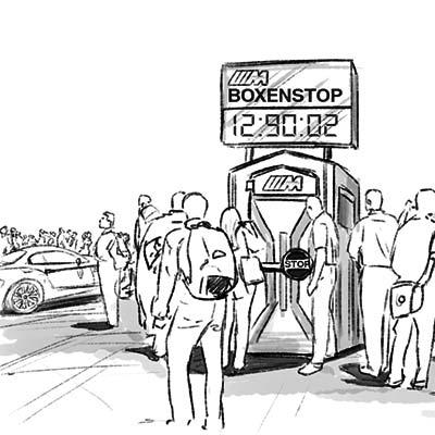 BMW Boxenstop